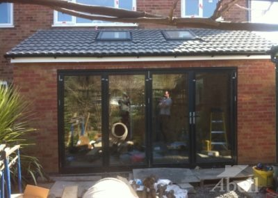 Rear house single storey extension