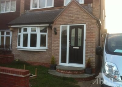 Front house extension to hallway and lounge