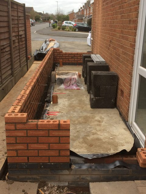 Side House Extension Utility Room Amp Cloak Room