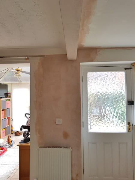 Internal Knock Through Between Kitchen And Dining Room: Internal Wall Knock Down In Barrow Upon Soar