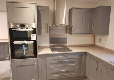 Kitchen Installation in New Build Home in Ashby