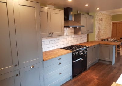Complete Kitchen Renovation in Loughborough